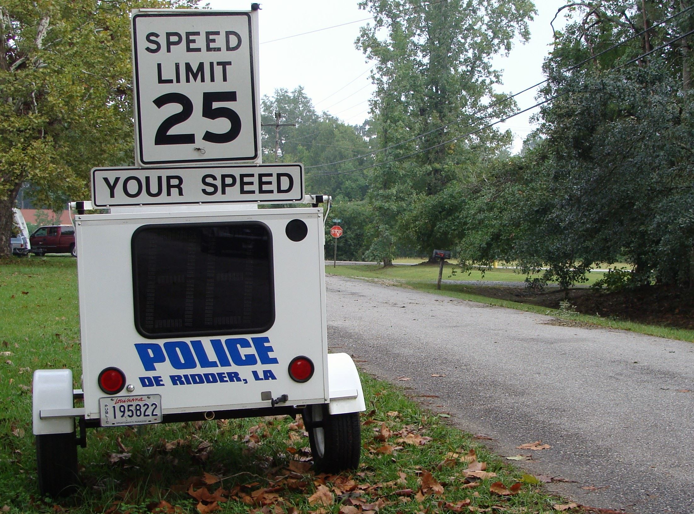 Speed Radar Trailer