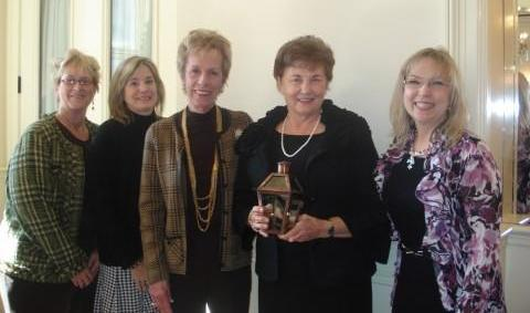 Marietta Jenkins Receiving the Alice Foster Award