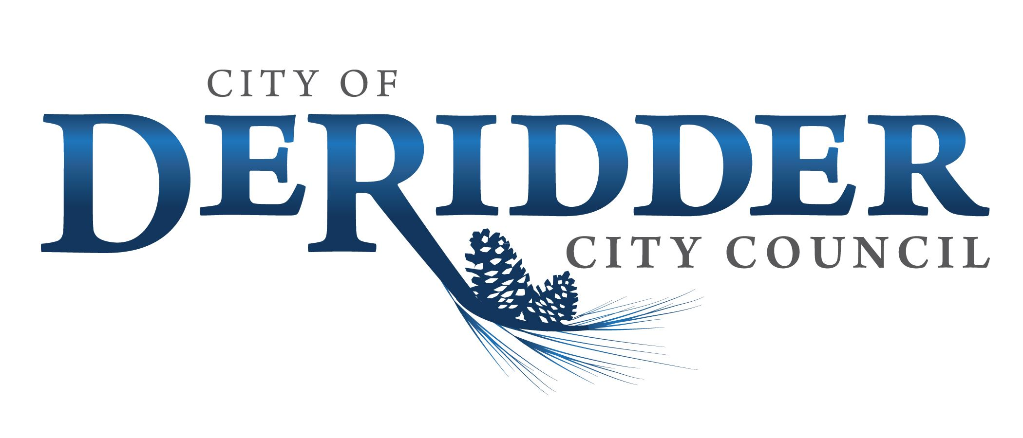 City of DeRidder logo-City Council