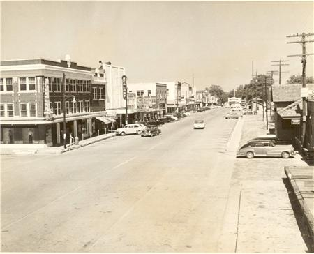 1950s Downtown DeRidder