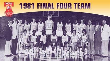 1981 LSU Final Four Team