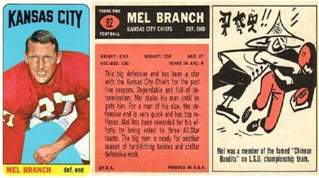 Kansas City Trading Card