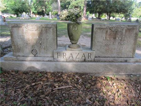 Frazar Plot at the Woodlawn Cemetery
