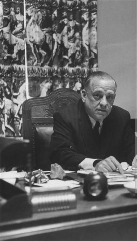 Governor Frazar in His Office
