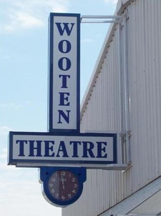 Wooten Theatre Sign