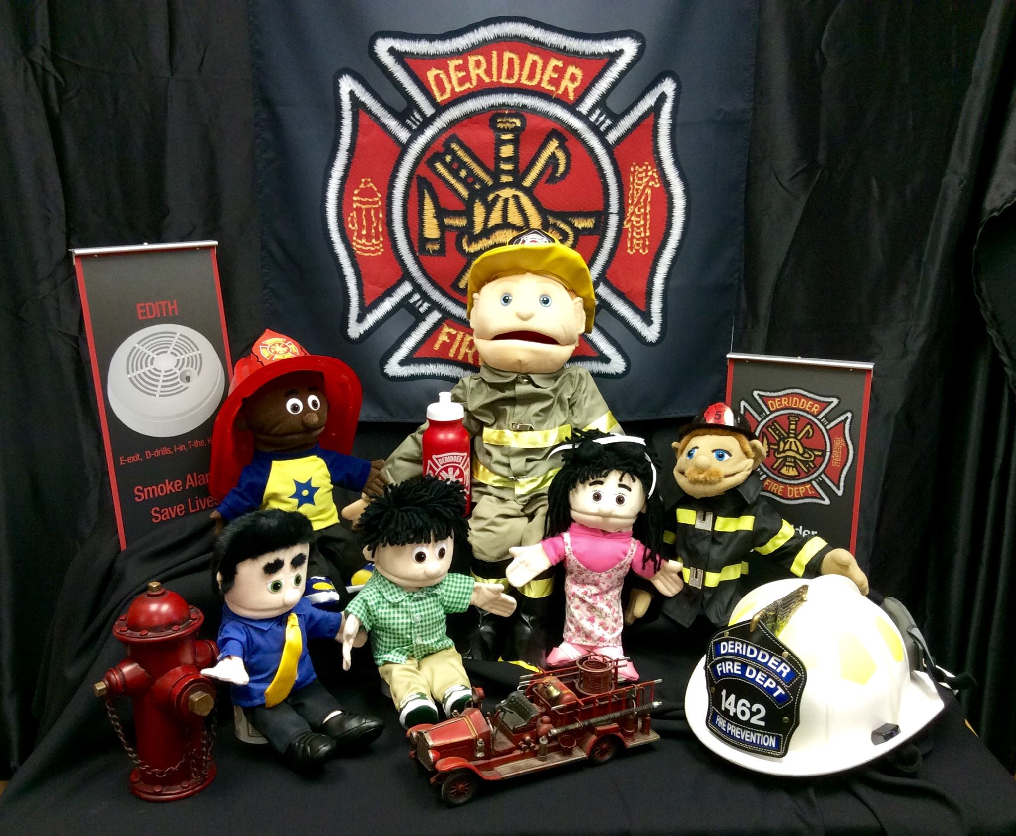 Fire Prevention Puppets