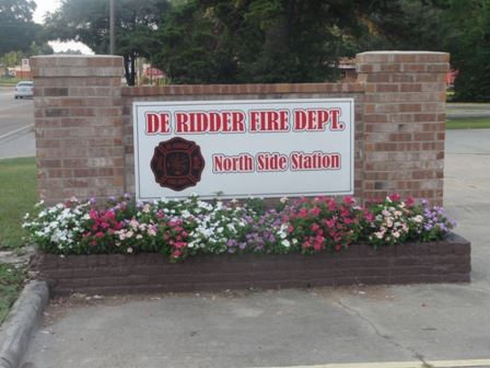 North Side Fire Station Sign