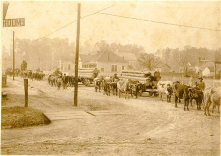Downtown DeRidder 1900s