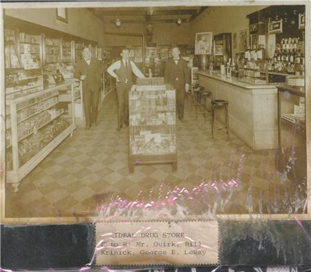 Inside Ideal Drug Store